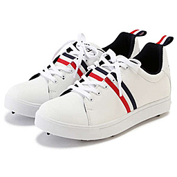 25fda94d43029 ... Pro Golf Japan · Pearly Gates 2018 Tricolore Soft Spike Shoes